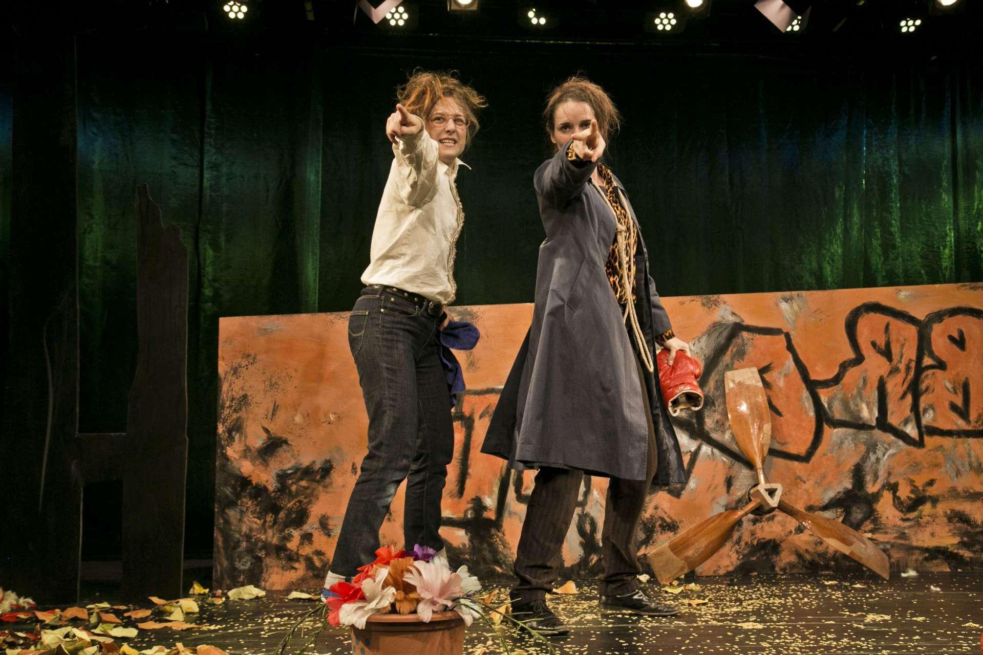 Die Reise nach Brasilien / am Theater Erlangen / Foto: Jochen Quast